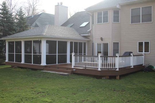 Remodeling porch deck Berkeley Heights, New Jersey